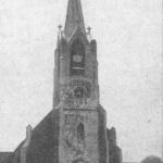 Bielikowo, kościół, widok od zachodu, fot. lata 20/30. XX wieku.