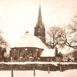 Bielikowo, kościół, widok od północnego-wschodu, fot. lata 20. XX wieku.