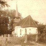 Brojce, kościół; fotografia lata 30/40. XX wieku (zbiory Jacka Kuczkowskiego)