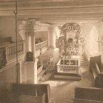 Brojce, kościół-wnętrze; fotografia lata 30/40. XX wieku (zbiory Jacka Kuczkowskiego).