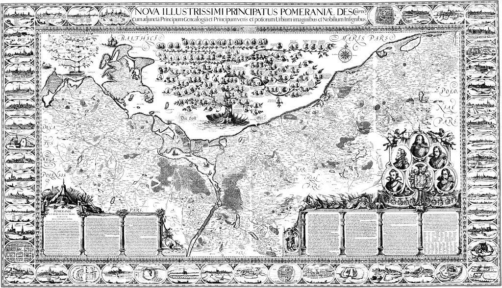 Wielka Mapa Księstwa Pomorskiego (niem. Lubinsche Karte lub Große Lubinsche Karte) – powstała w latach 1610-1618 na zamówienie księcia szczecińskiego Filipa II. Autor: Eilhardus Lubinus (właśc. Eilert Lübben).