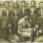 Drużyna harcerska lata 1957 – 1958.