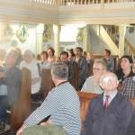 Nasi goście w brojeckim kościele