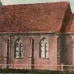 Kościół na przedwojennej karcie pocztowej