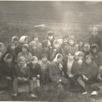 Wykopki kl VIII 1946 r.