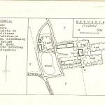 Plan sytuacyjny zabudowań folwarcznych