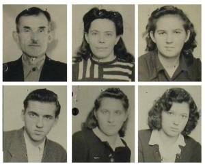 Na ilustracji: zachowane zdjęcia rodziny Awramenko z zasobu Międzynarodowego Centrum Poszukiwań